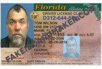 Florida Driver's License Fake Id Virtual – Fake Id Card Maker pertaining to Florida Id Card Template