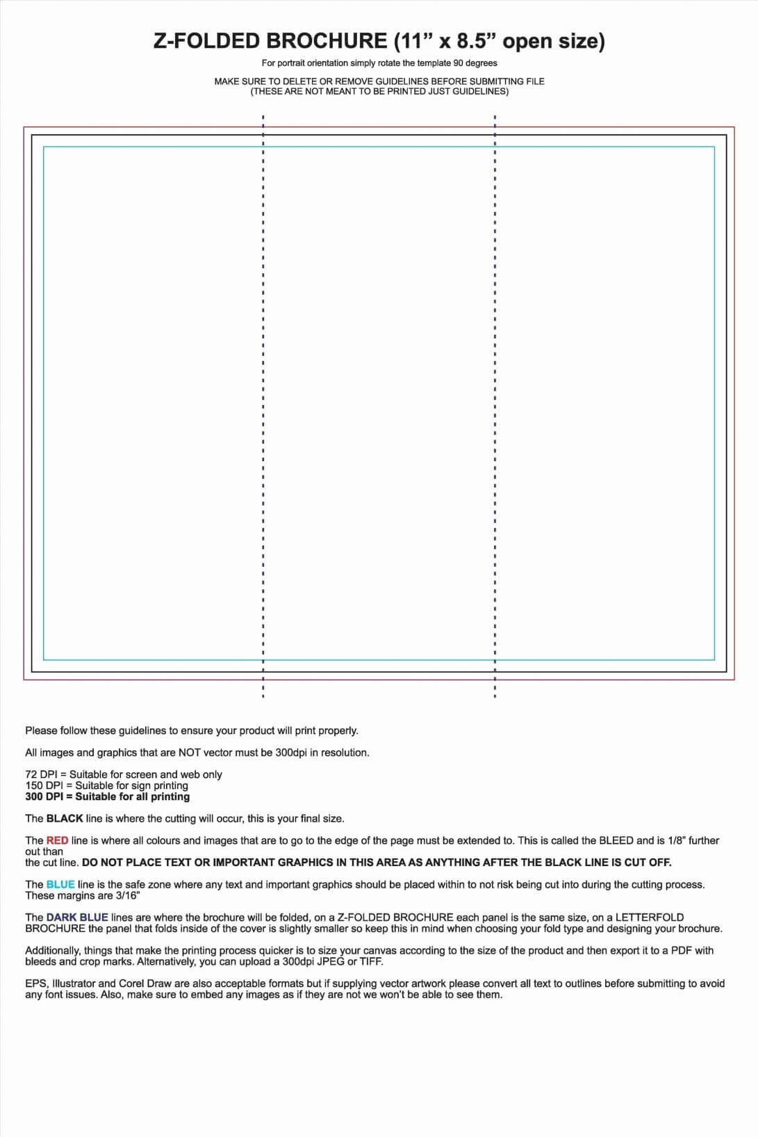 Folded Card Templates Free Download Business Template for Quarter Fold Card Template
