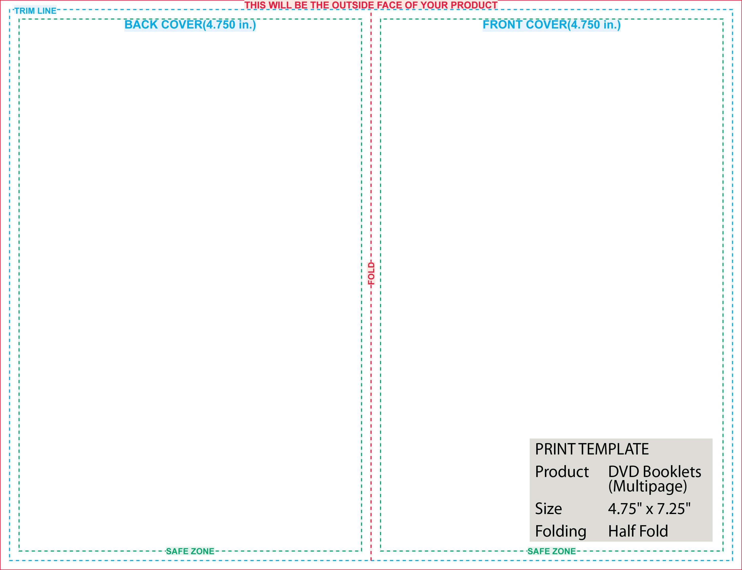 Folded Templates regarding 8.5 X11 Brochure Template