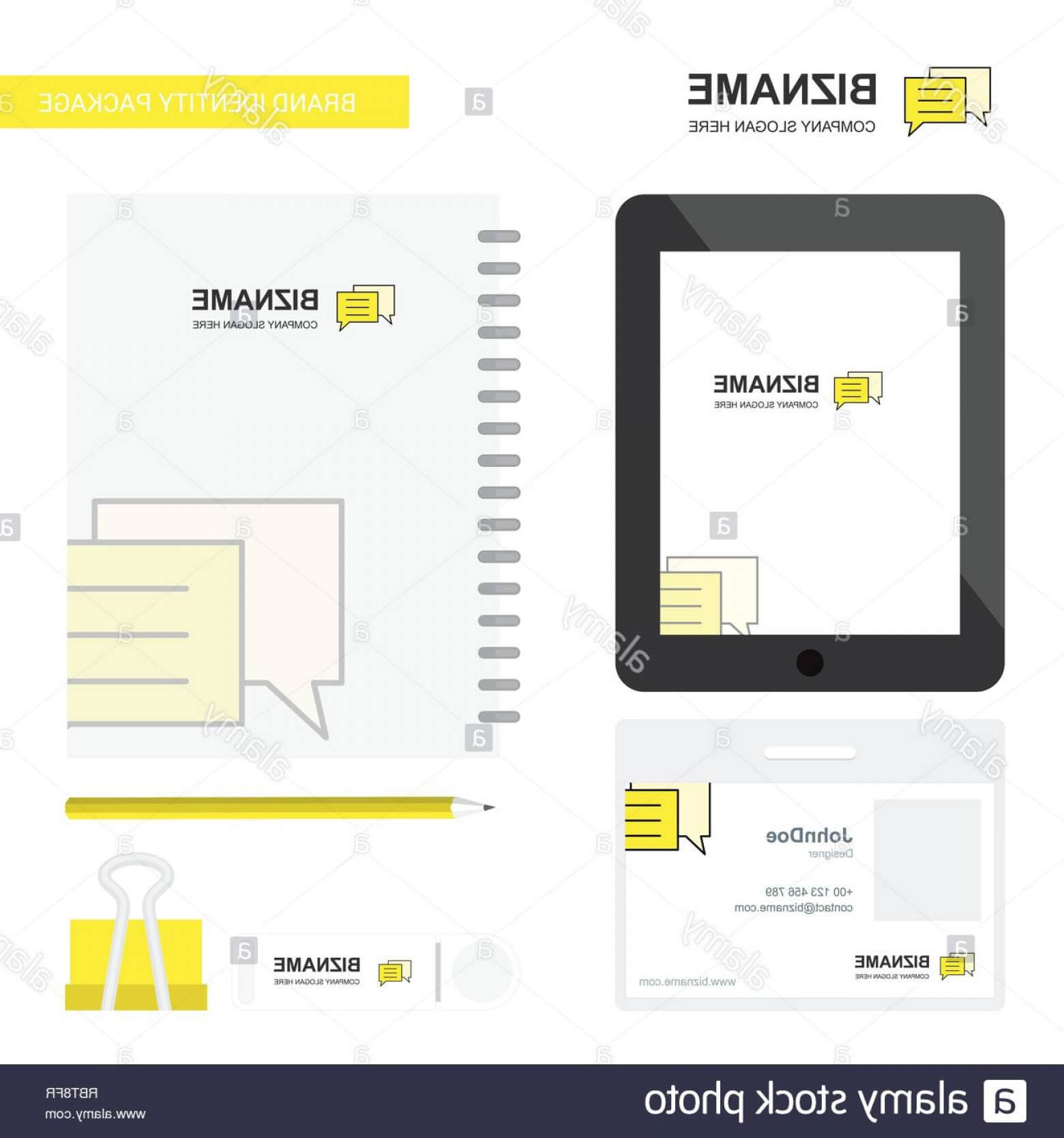 Folder Business Logo Tab App Diary Pvc Employee Card And Usb with regard to Pvc Card Template