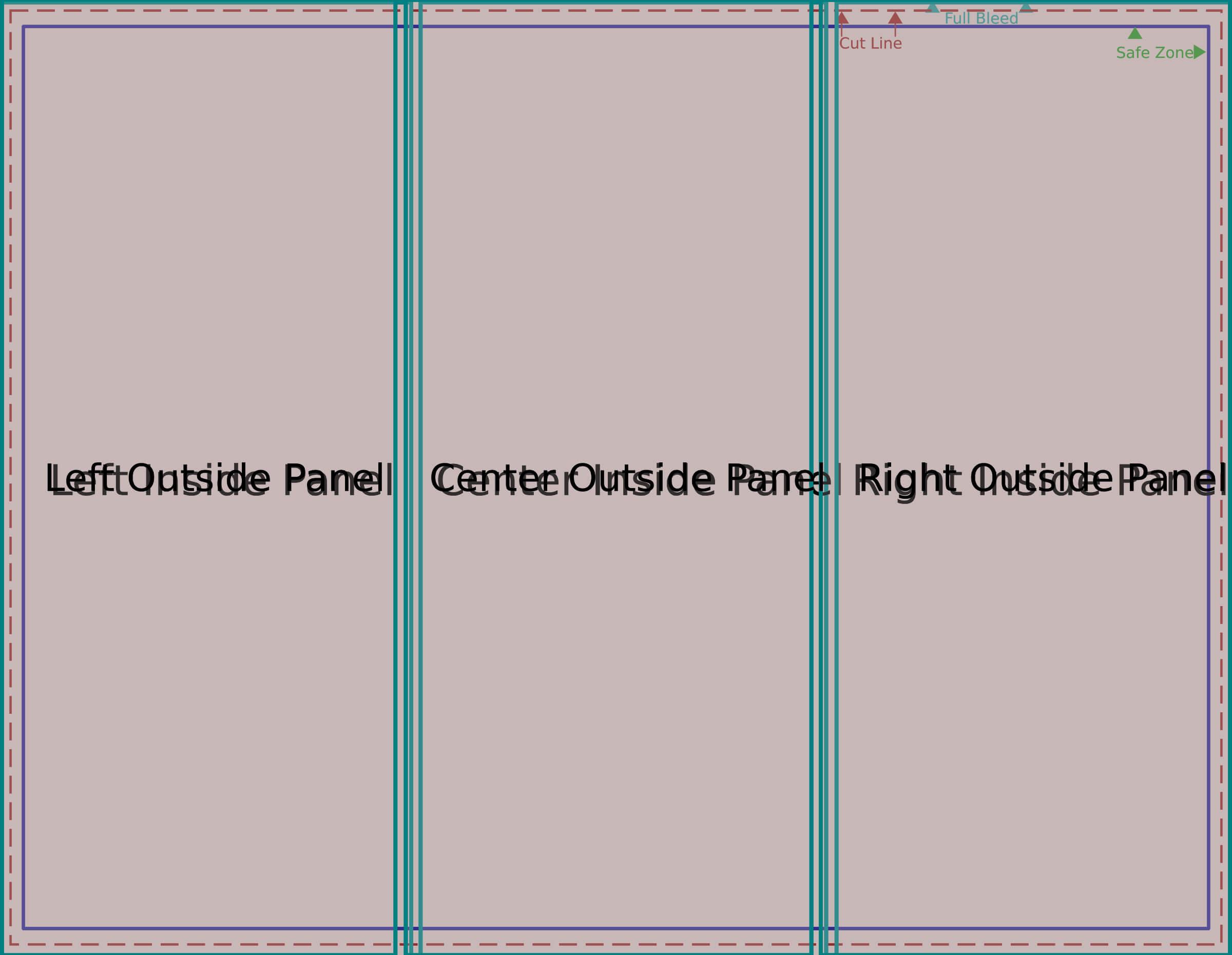 Folding Brochure Templates Clipart Images Gallery For Free regarding Brochure Folding Templates