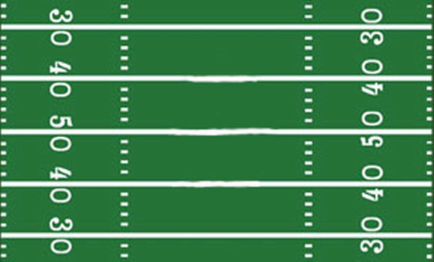 Football Field Template I Made For A Sign | Football Field in Blank Football Field Template