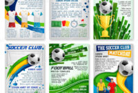 Football Or Soccer Game Banner, Sport Club Design — Stock intended for Football Referee Game Card Template