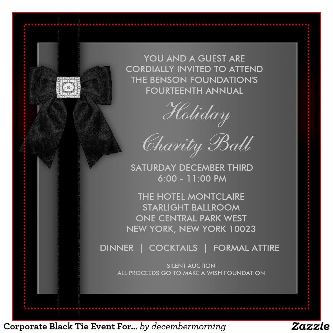 Formal Event Invitation Card Sample - Google Search Throughout Event Invitation Card Template