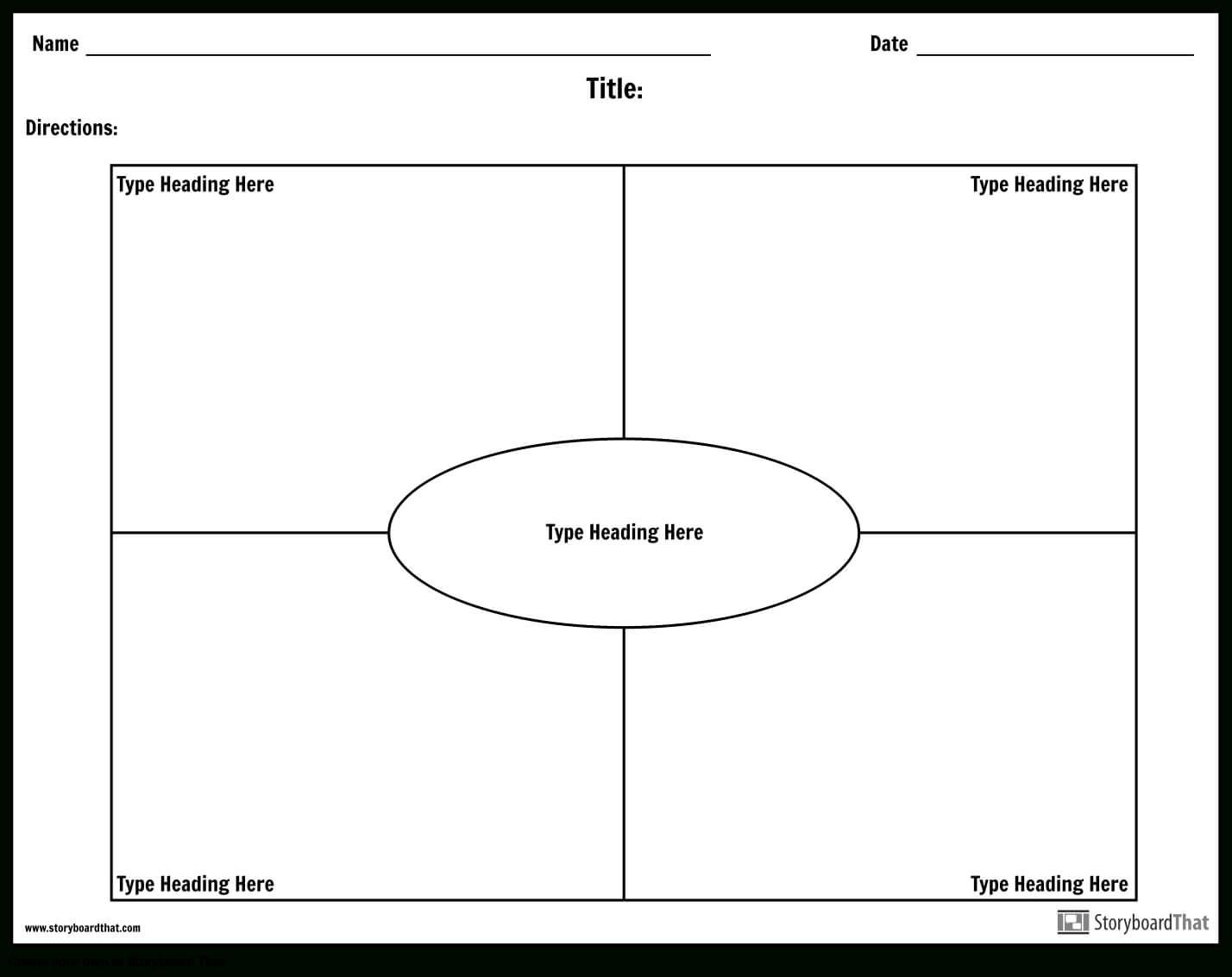 Frayer Model Worksheet Templates   Frayer Model Maker pertaining to Blank Frayer Model Template