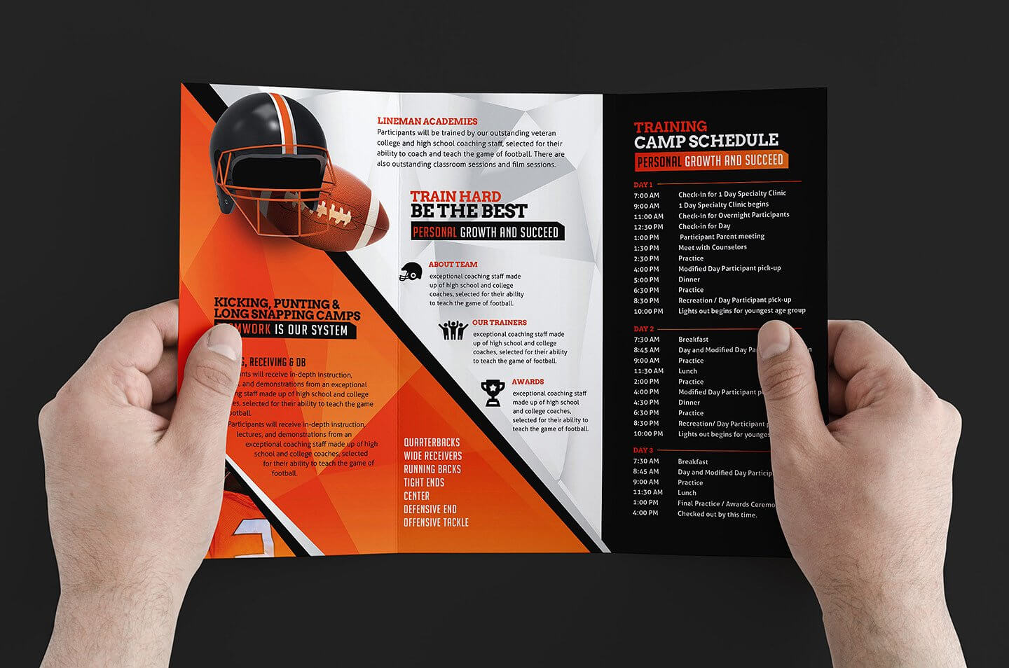 Free 12+ Training Brochure Designs In Word | Psd | Ai | Eps For Training Brochure Template