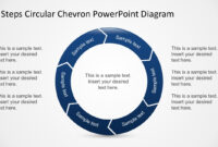 Free 6 Steps Circular Chevron Powerpoint Diagram for Powerpoint Chevron Template