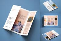 Free A4 Single-Gate Fold Brochure Mockup Psd Set | Graphic inside Single Page Brochure Templates Psd