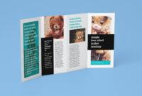 Free Accordion 4-Fold Brochure Leaflet Mockup Psd Templates with regard to Brochure 4 Fold Template