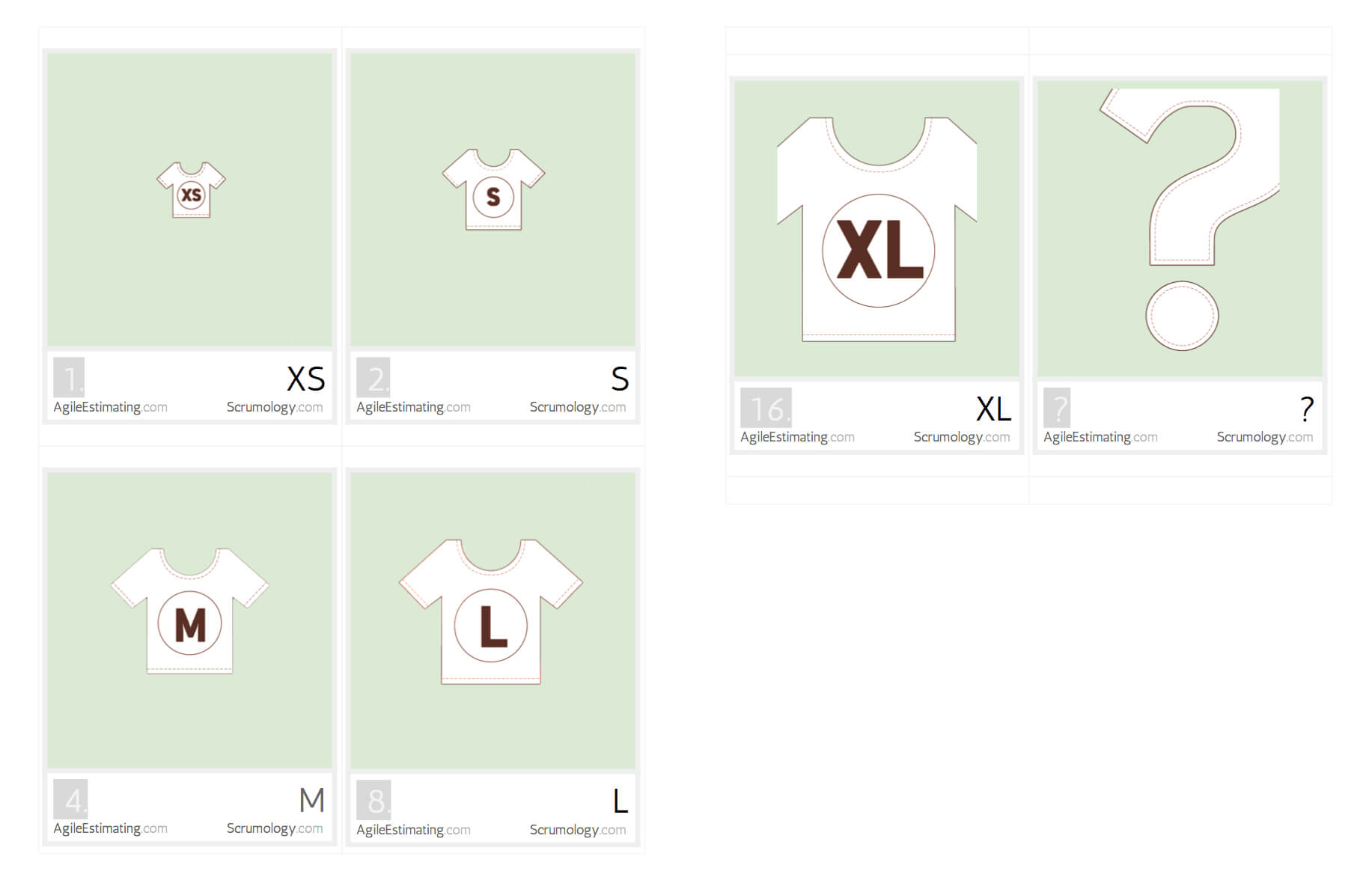 Free Agile Estimating Cards You Can Print - Scrumology with regard to Planning Poker Cards Template