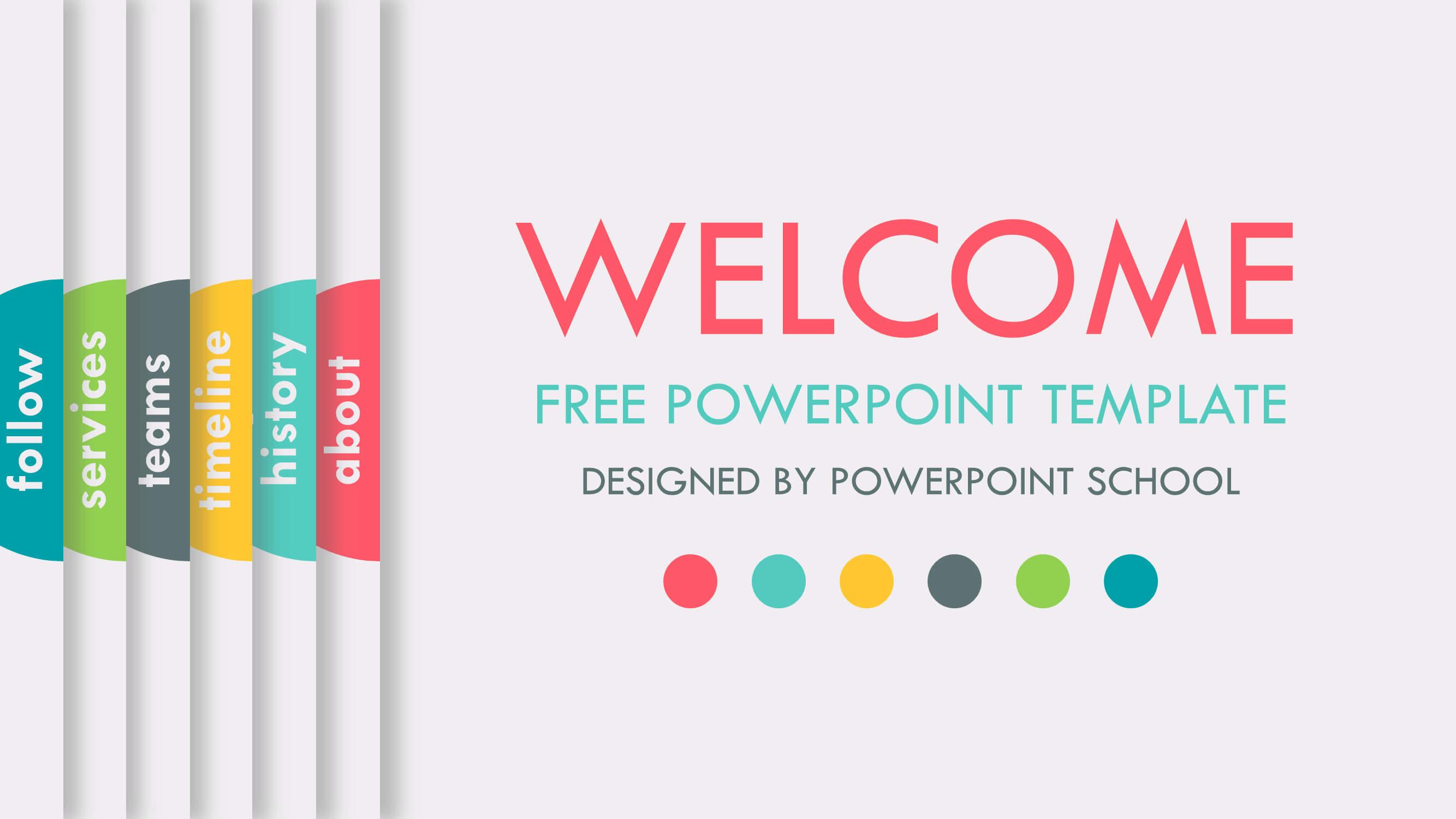 Free Animated Powerpoint Presentation Slide - Powerpoint School In Powerpoint Presentation Animation Templates