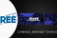 Free Banner Template Gimp #2 Inside Youtube Banner Template inside Gimp Youtube Banner Template