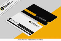 Free Best Accountant Visiting Card Psd Template | Visiting for Designer Visiting Cards Templates