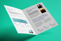 Free Bi-Fold A4 Brochure Mockup Psd – Good Mockups within 2 Fold Brochure Template Psd