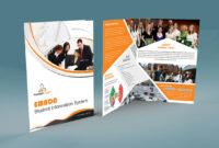 Free Bi-Fold Brochure Psd with regard to Two Fold Brochure Template Psd