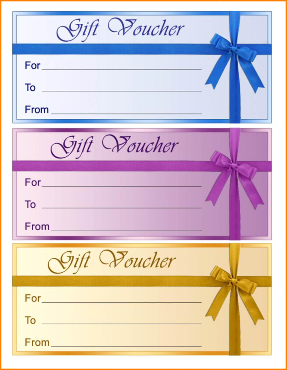 Free Birthday Gift Certificate Templates Certificate pertaining to Fillable Gift Certificate Template Free