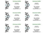 Free Blank Business Card Templates For Microsoft Word in Business Card Template For Word 2007