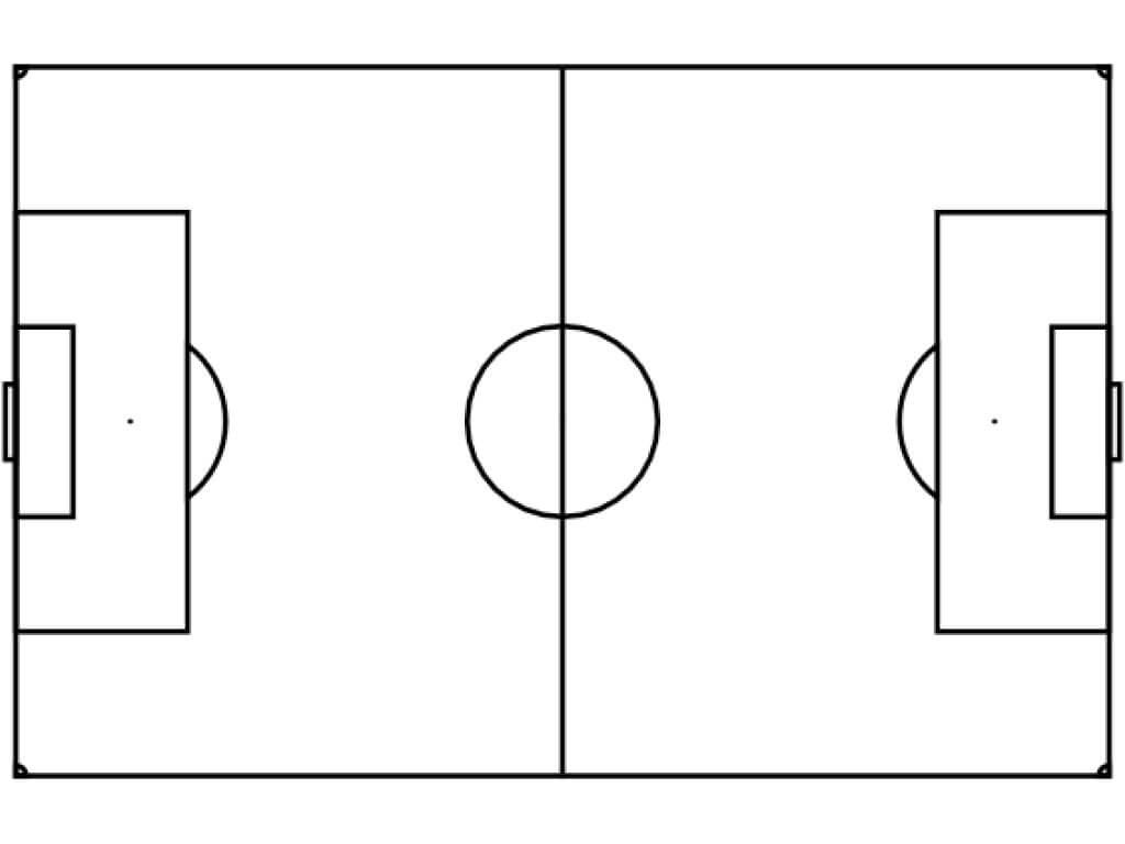 Free Blank Soccer Field Diagram, Download Free Clip Art regarding Blank Football Field Template