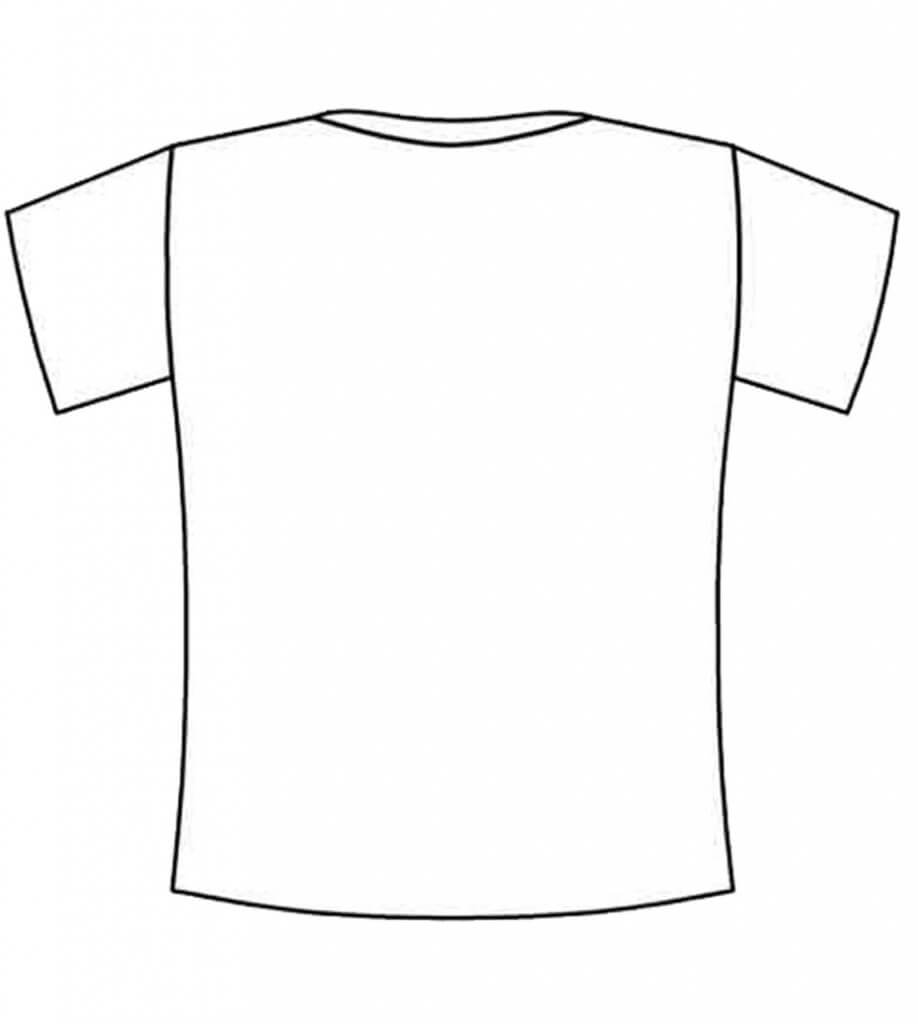 Free Blank Tshirt, Download Free Clip Art, Free Clip Art On In Blank Tshirt Template Pdf
