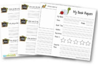 Free Book Report Template | 123 Homeschool 4 Me For Sandwich Book Report Template