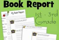 Free Book Report Template | School | 1St Grade Books, 3Rd inside 1St Grade Book Report Template