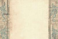 Free Border Templates |  Column Blog Background – Vintage in Old Blank Newspaper Template