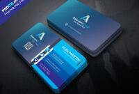 Free Business Card Templates Psd Premium Download in Free Business Card Templates In Psd Format