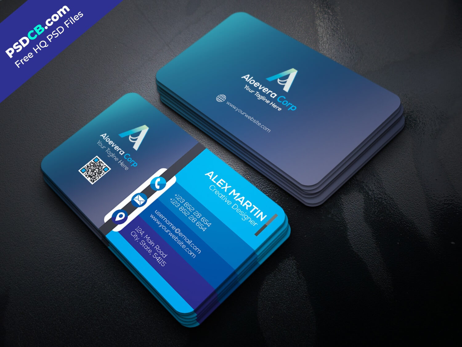 Free Business Card Templates Psd Premium Download with ...