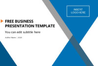Free Business Presentation Template within Free Powerpoint Presentation Templates Downloads