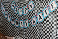 Free Cars Birthday Party Printables regarding Cars Birthday Banner Template