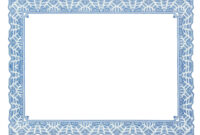 Free Certificate Border Templates For Word pertaining to Word Border Templates Free Download