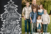 Free Chalkboard Christmas Card Download Ideas! « Goodncrazy pertaining to Free Christmas Card Templates For Photoshop