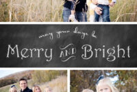 Free Chalkboard Christmas Card Templates » Chelsea Peterson Pertaining To Free Christmas Card Templates For Photographers
