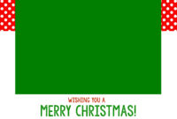 Free Christmas Card Templates – Crazy Little Projects intended for Free Christmas Card Templates For Photoshop