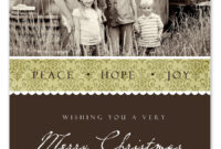 Free Christmas Card Templates Within Free Christmas Card Templates For Photographers