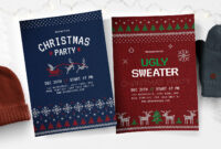 Free Christmas Flyer, Poster & Instagram Templates – Psd throughout Christmas Brochure Templates Free