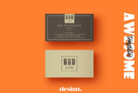Free Coffee Business Card Template – Creativetacos in Coffee Business Card Template Free
