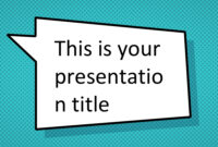 Free Comic Book Powerpoint Template – Superhero Ppt Design pertaining to Powerpoint Comic Template