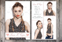 Free Comp Card Template Brochure Templates Photoshop Intended For Free Zed Card Template