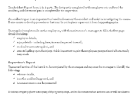 Free Construction Job Site Incident Report Form Templates At intended for Construction Accident Report Template