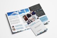 Free Corporate Trifold Brochure Template In Psd, Ai & Vector in 3 Fold Brochure Template Free