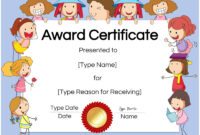 Free Custom Certificates For Kids | Customize Online & Print pertaining to Free Kids Certificate Templates