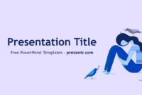 Free Depression Powerpoint Template - Prezentr Powerpoint in Depression Powerpoint Template