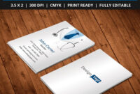 Free-Doctor-Business-Card-Template-Psd | Business Card Psd in Medical Business Cards Templates Free