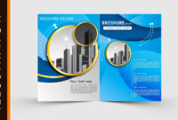 Free Download Adobe Illustrator Template Brochure Two Fold in Free Illustrator Brochure Templates Download