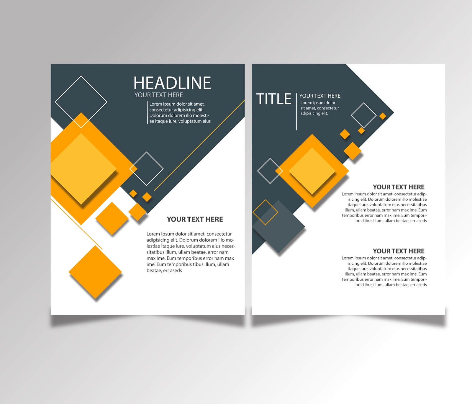 Free Download Brochure Design Templates Ai Files - Ideosprocess Within Ai Brochure Templates Free Download