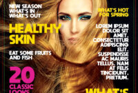 Free Download] Magazine Template Psd | Freedownloadpsd In Blank Magazine Template Psd