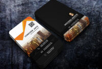 Free Download Professional Building Construction Business regarding Construction Business Card Templates Download Free