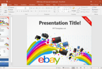 Free Ebay Powerpoint Template throughout How To Edit A Powerpoint Template