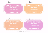 Free Editable Love Coupons For Him Or Her intended for Dinner Certificate Template Free